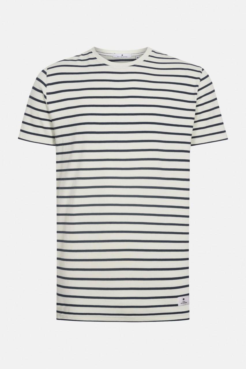 RVLT Revolution Herren T-Shirt Gestreift Hellgrün Schwarz 2020