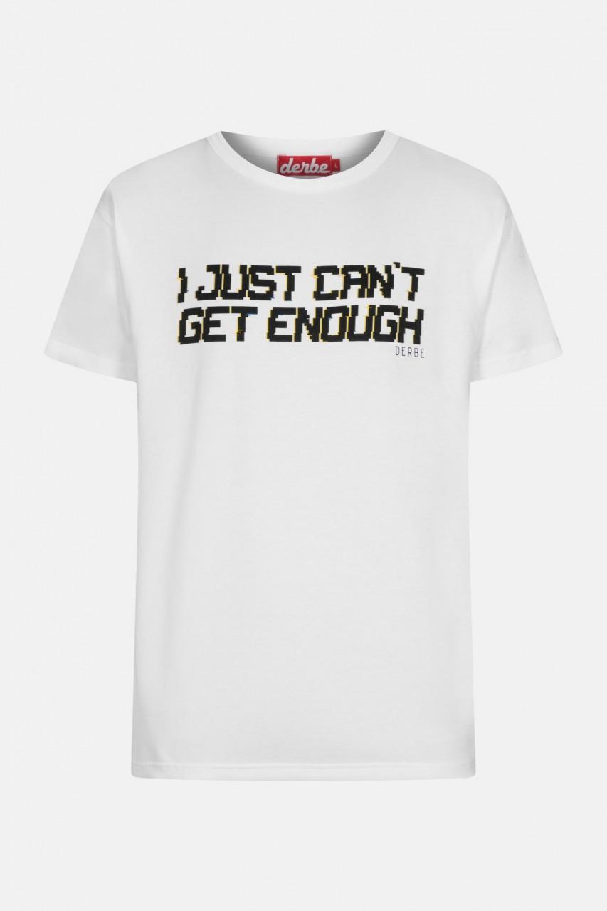 Derbe I just can't get enough Herren T-Shirt Weiß