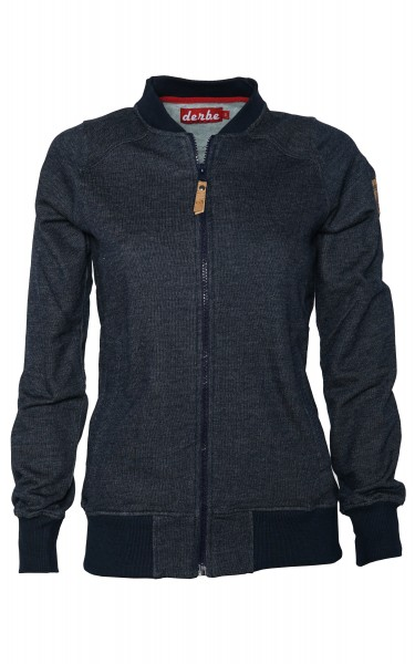Derbe Deerns Sweatjacke Jojo Indigo