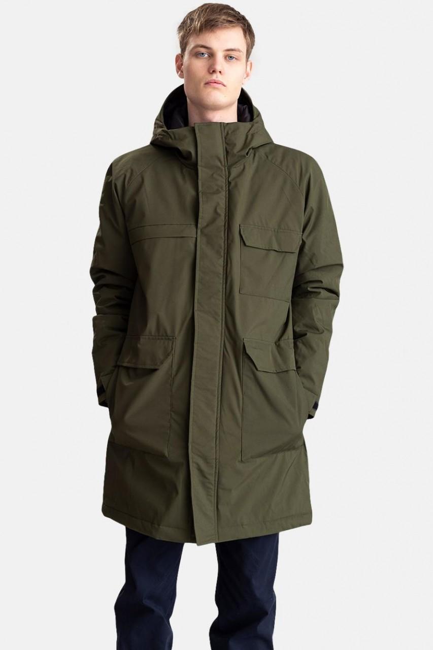 RVLT Revolution Utility Coat Army Herren Wintermantel Oliv 7694