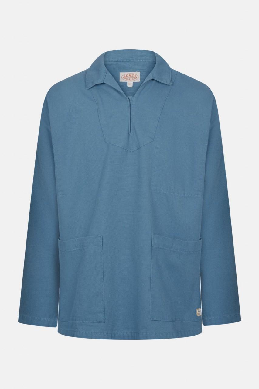 Armor Lux Fischerhemd Vareuse Heritage Blau