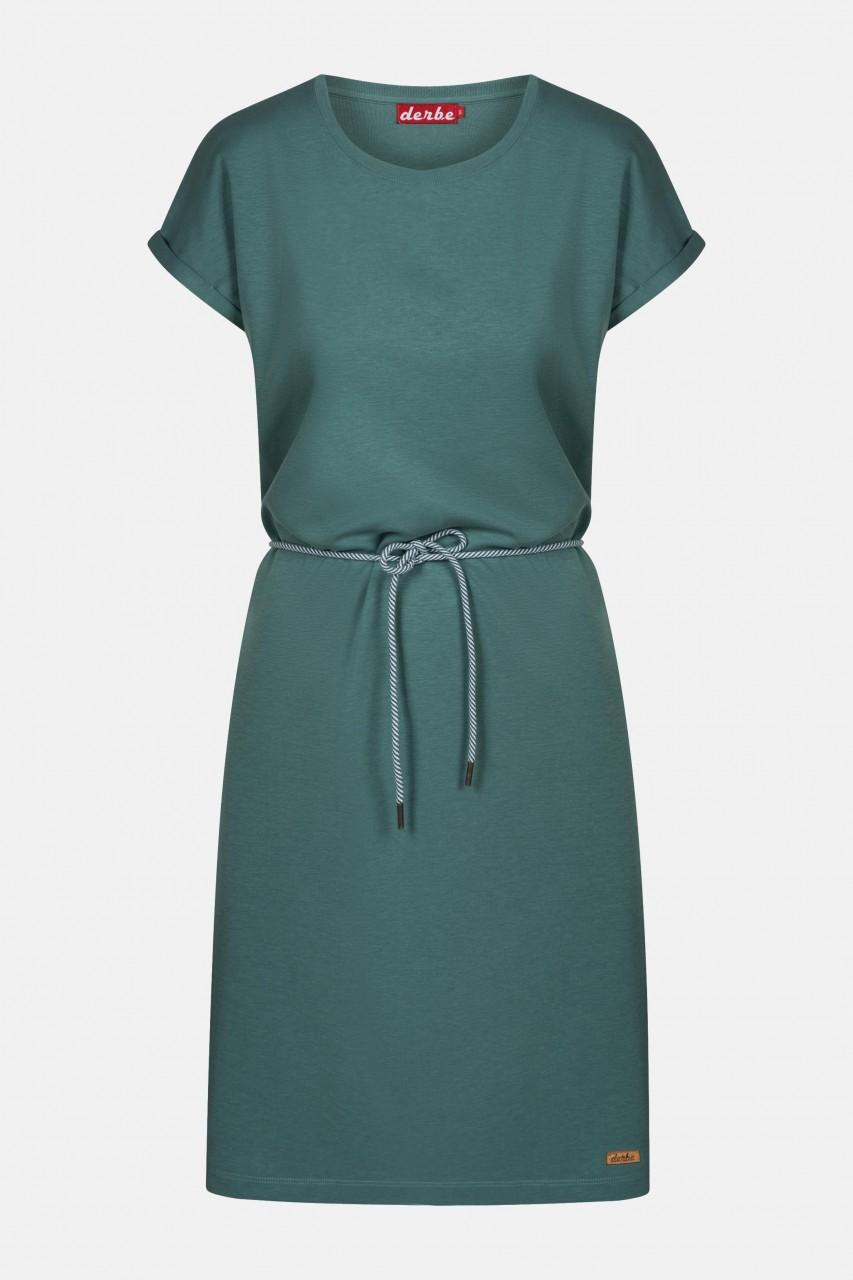 Derbe Brick Dress Sage Green Damen Kleid Grün