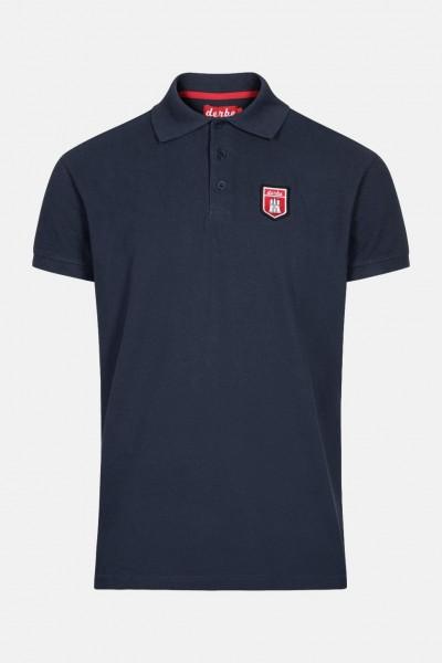 10cd380991a1f5 Derbe Herren Poloshirt T-Shirt Tommy Navy Dunkelblau | Hanseheld.de