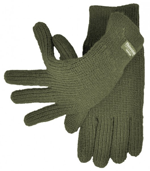 Strickhandschuhe, Thinsulate - oliv