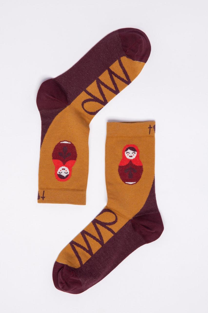 Blutsgeschwister Damen Socken Sensational Steps Masha Matroschka