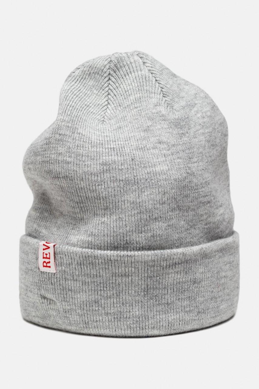 RVLT Revolution Beanie Mütze Grau