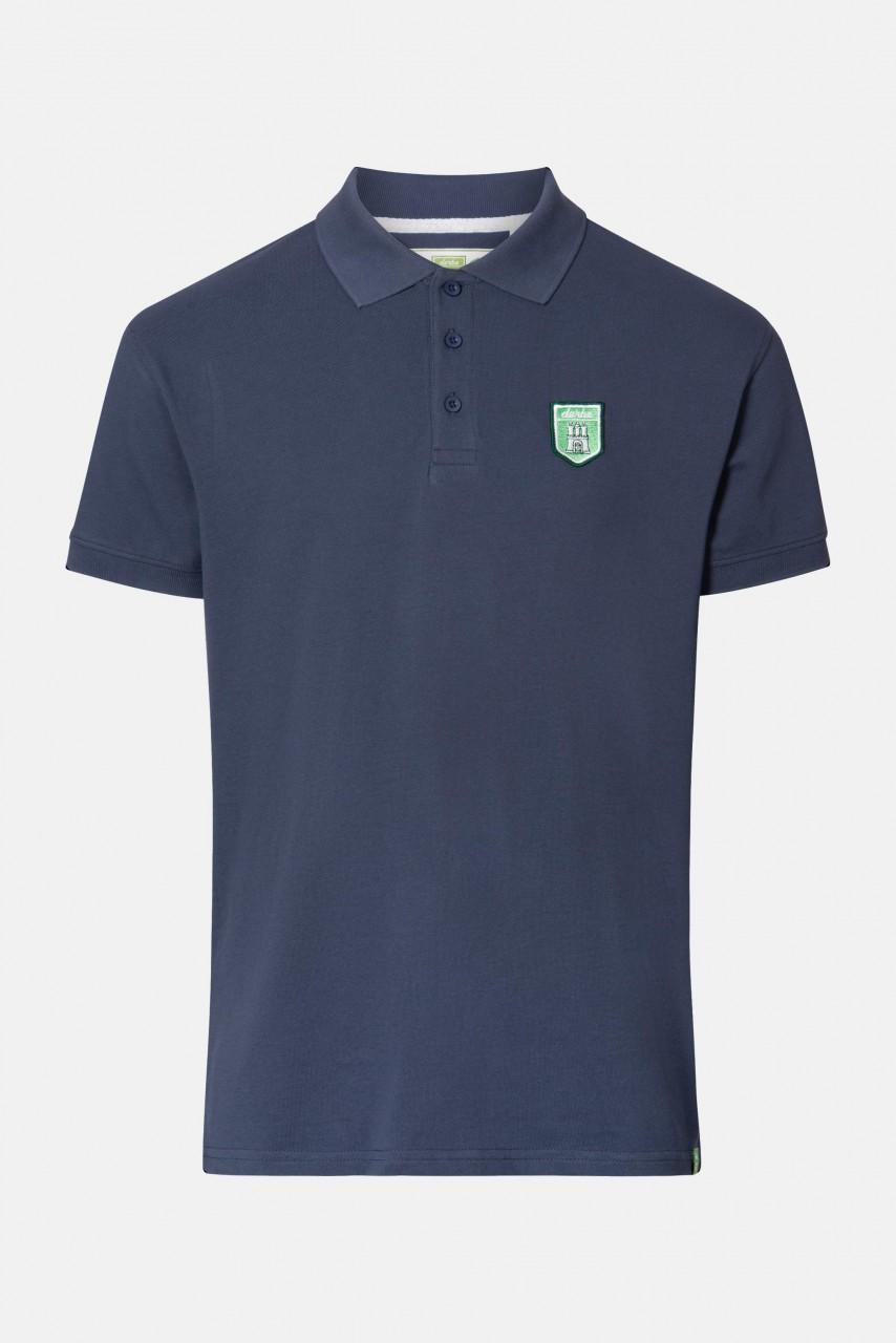Derbe Tommy Poloshirt T-Shirt Gots Organic Dunkelblau