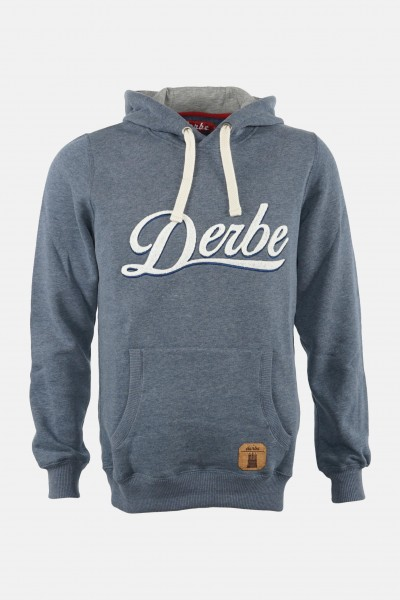 Derbe Roadmovie Herren Hoody Navy Melange