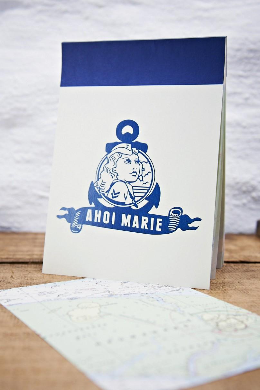 Ahoi Marie Notizblock Marie A5