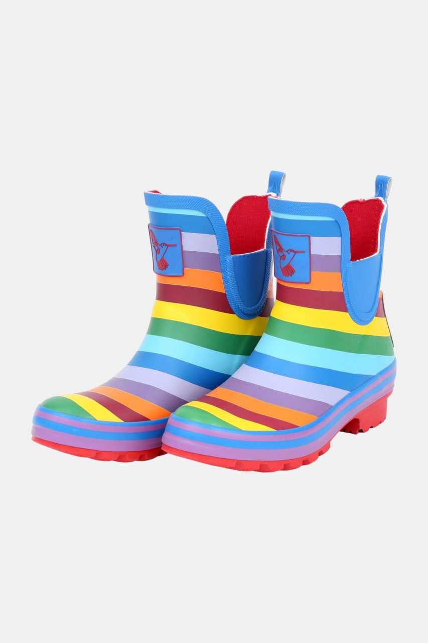 Evercreatures Gummistiefel Rainbow Meadow Ankle Halbschuh