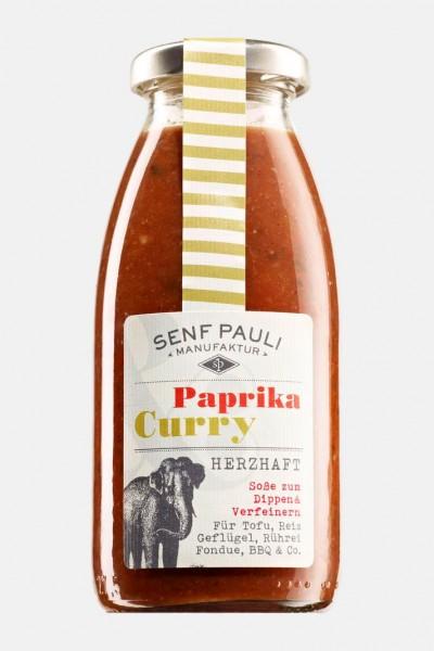 Senf Pauli - Soße Paprika Curry