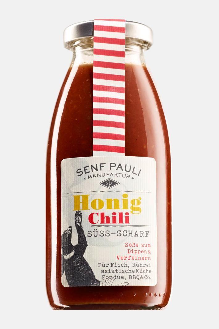 Senf Pauli - Soße Honig Chili