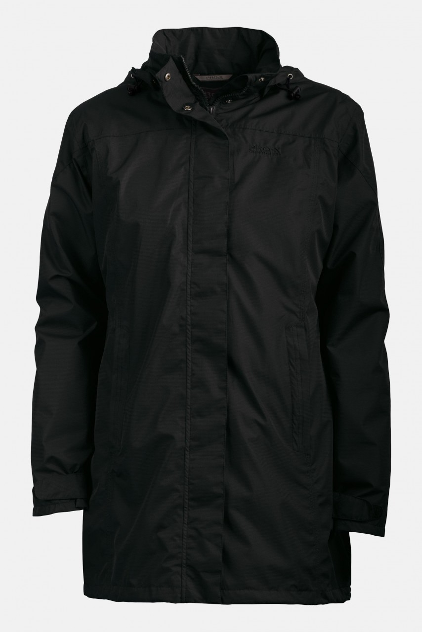 Damen Outdoor-Mantel Jenna, Schwarz