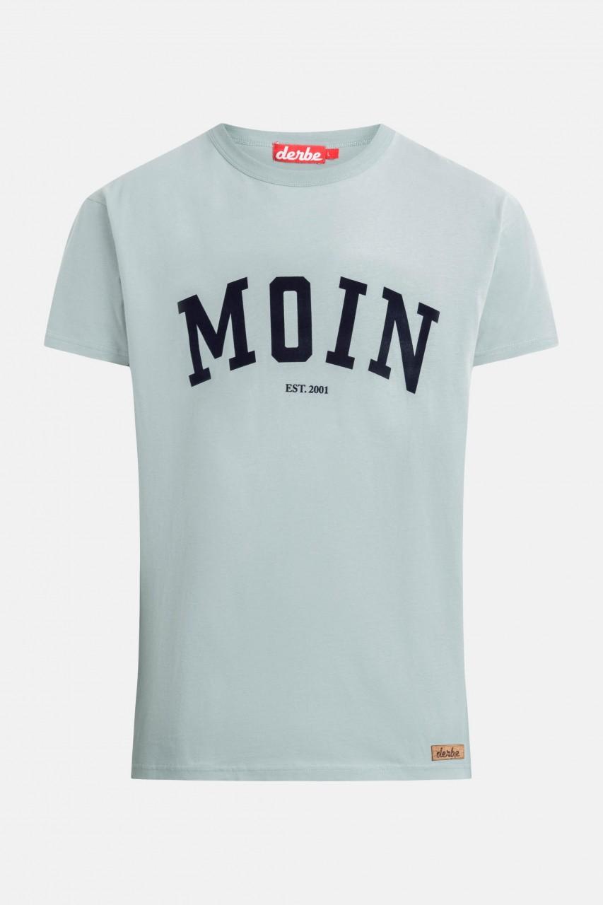 Derbe Moin Herren T-Shirt Quarry Grau