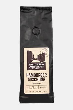 Hamburger Mischung Kaffee - Speicher & Consorten