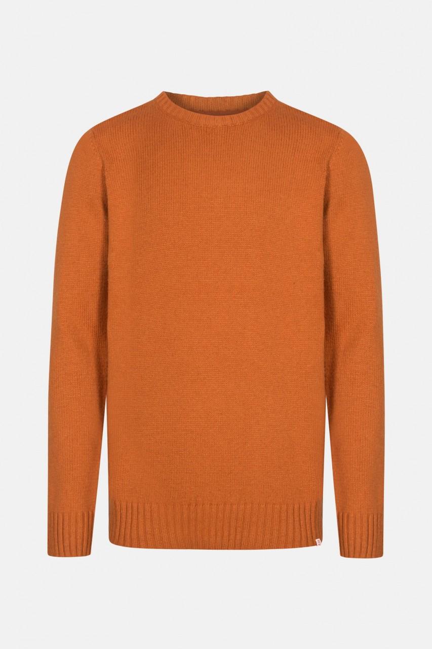 RVLT Revolution Herren Pullover Crewneck Orange