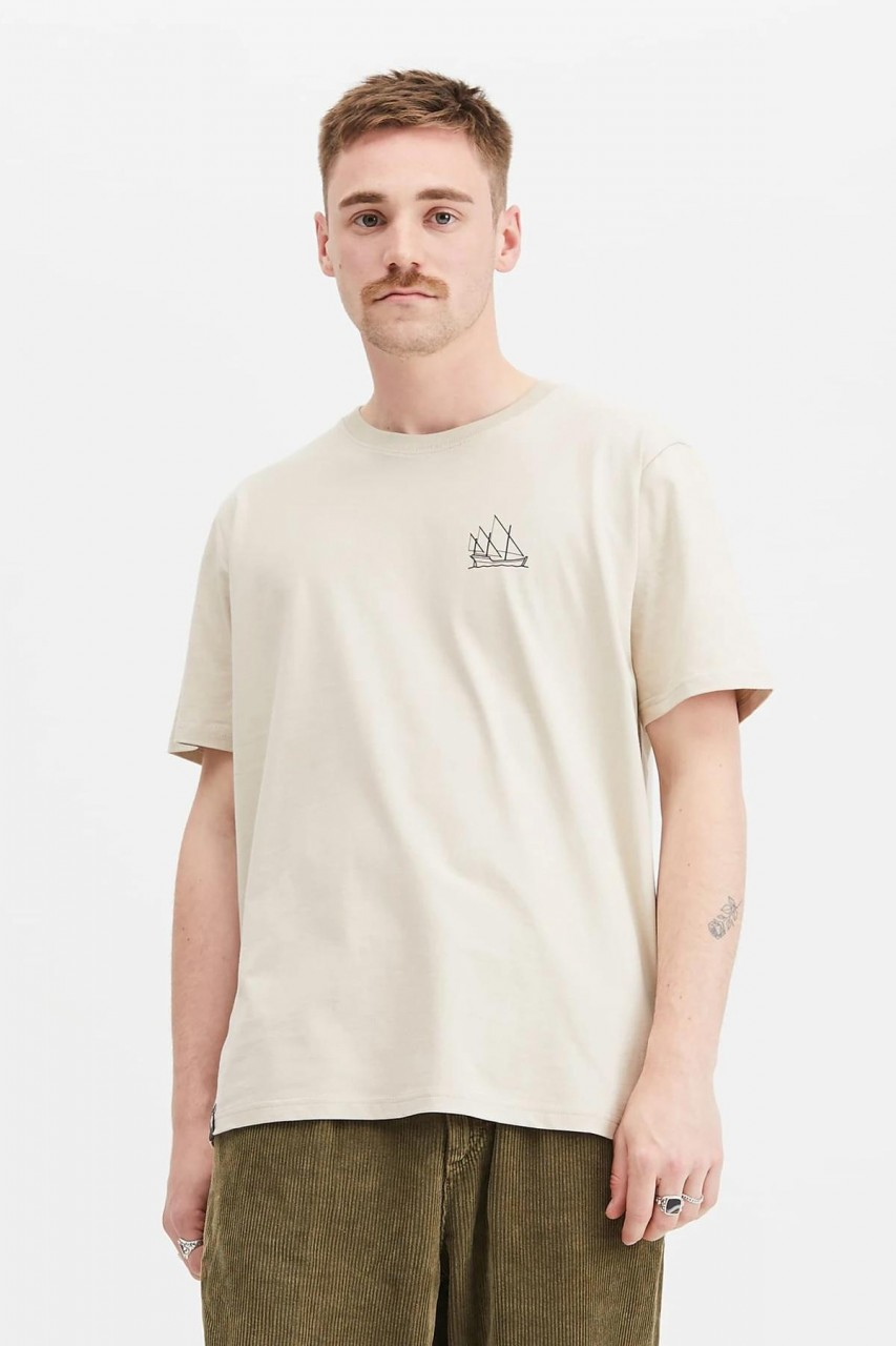 Hafendieb Karavelle Herren T-Shirt sand