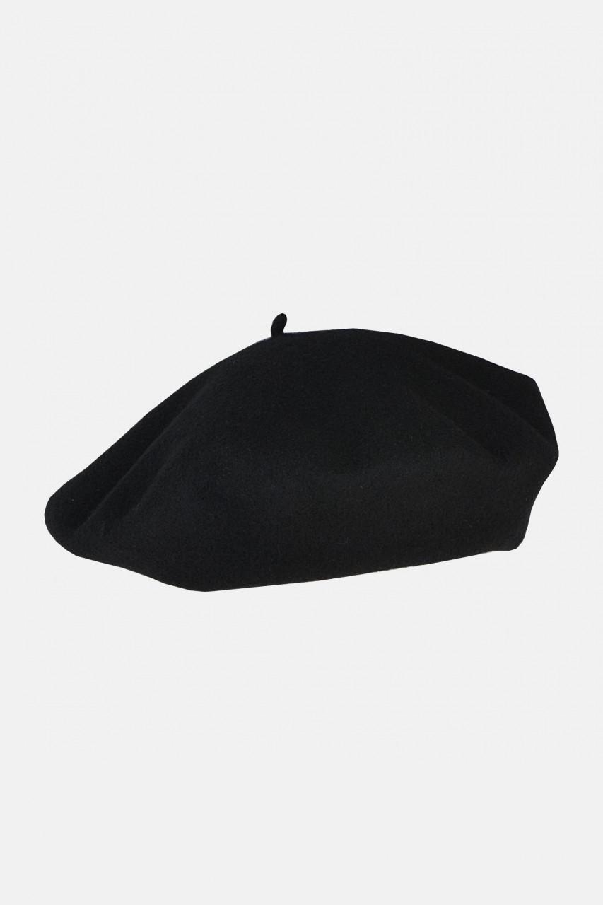 Baskenmütze klassisch schwarz