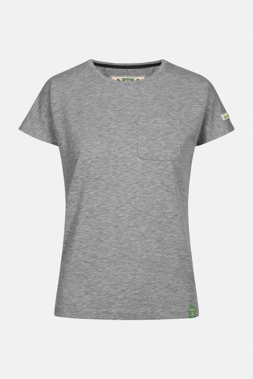 Derbe Alani Gots Organic Damen Shirt Hellgrau