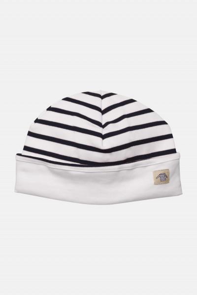 Armor Lux Kinder-Mütze weiß-blau