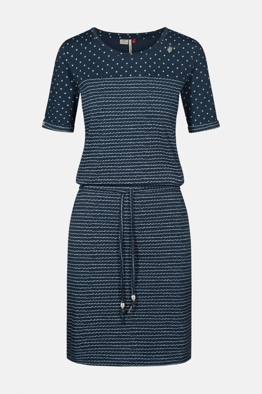 Ragwear Nuggie Dress Damen Kleid Blau