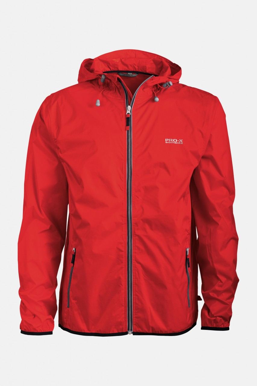 Kinder-Regenjacke Cleek Junior Rot Pro-X