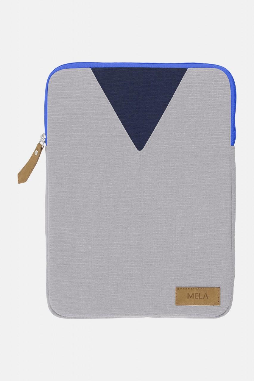 Melawear Sleeve Laptoptasche Grau Hellblau