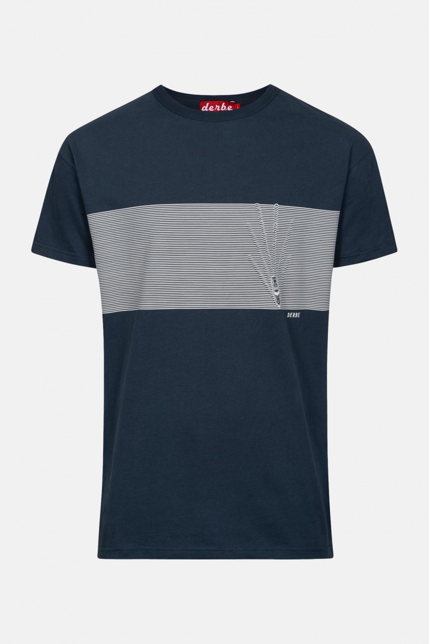 Derbe Kink Blau Herren T-Shirt