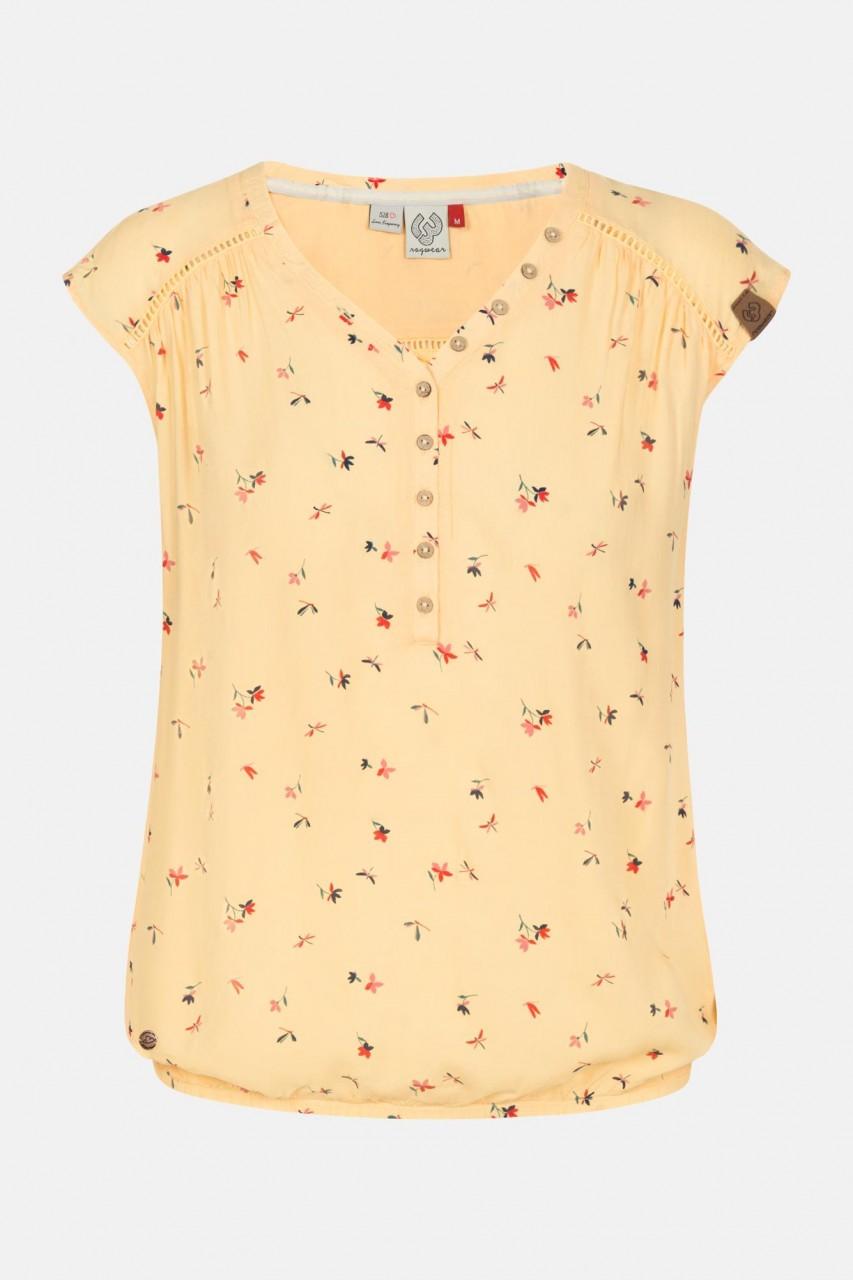 Ragwear Salty Vanilla Damen Shirt Top Gelb