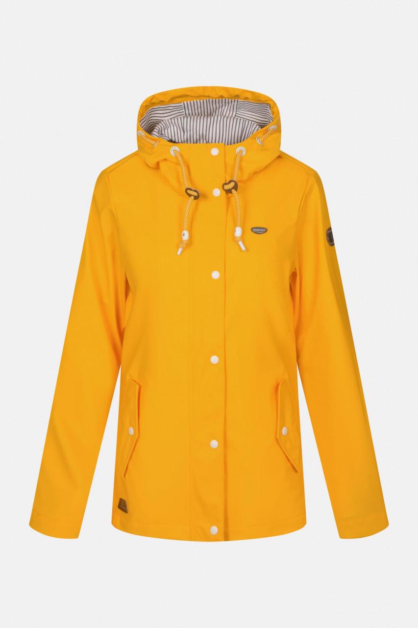 Ragwear Marge Damen Regenjacke Yellow Gelb