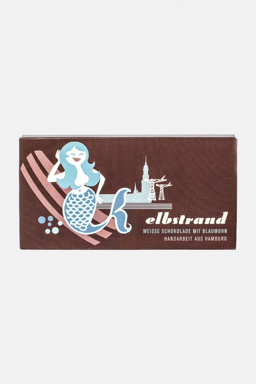 Elbstrand Hamburg Schokolade