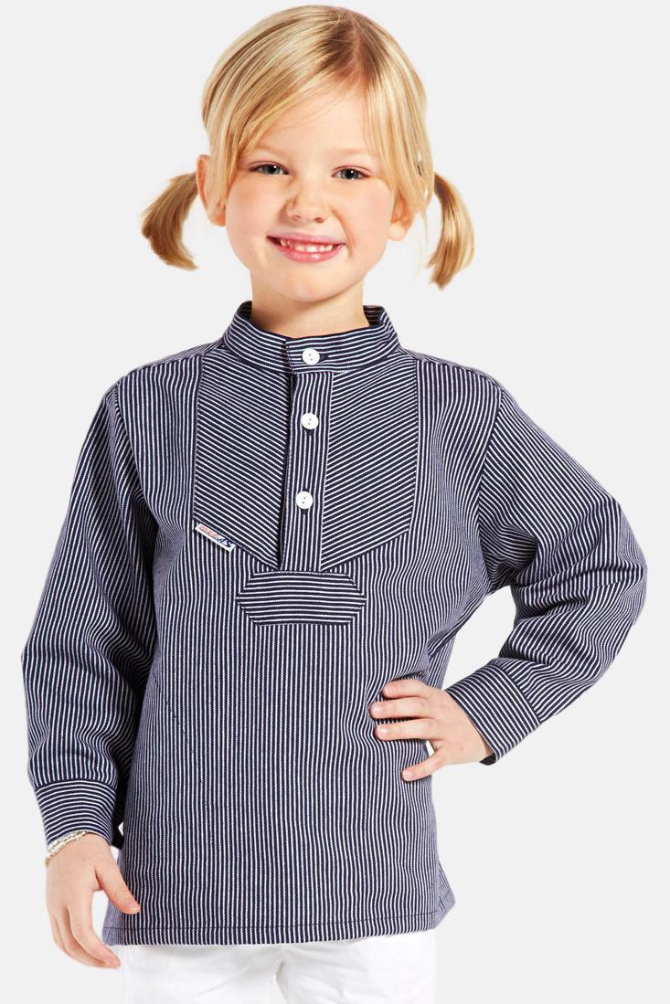 Fischerhemd Original schmal gestreift Kinder