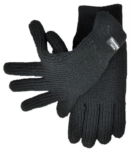 Strickhandschuhe, Thinsulate - schwarz