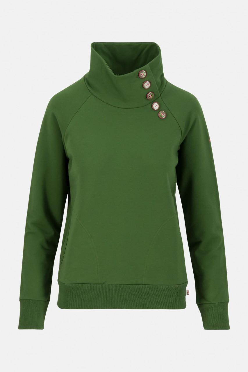 Blutsgeschwister Oh so nett Damen Pullover Garden Green Grün