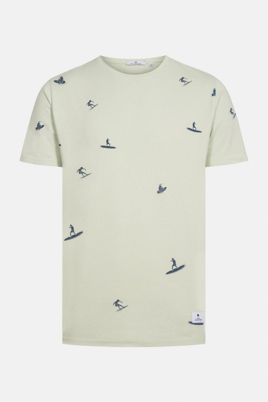 RVLT Revolution Herren T-Shirt Surfer Grün