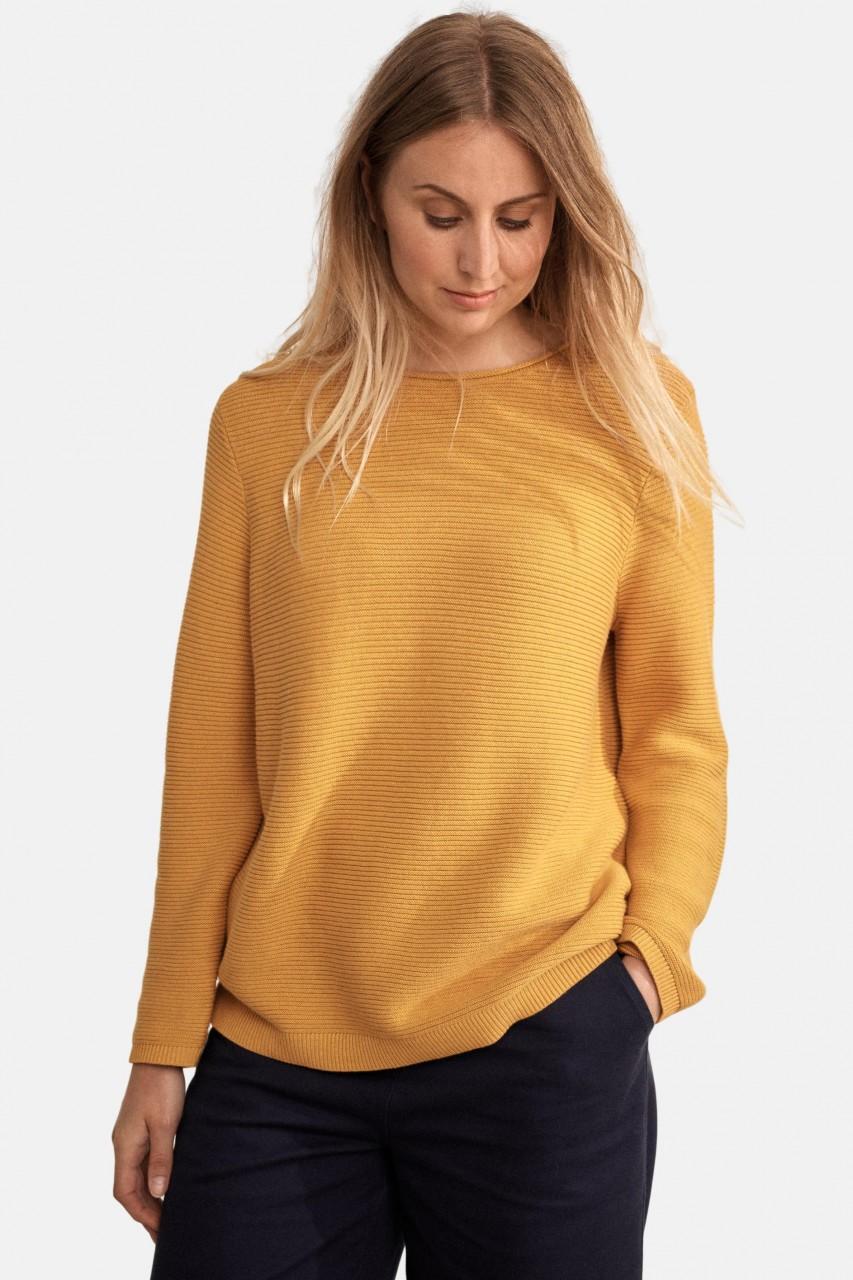 Seasalt Cornwall Makers Jumper Sunglow Damen Pullover Gelb
