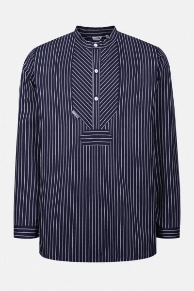 Fischerhemd Original breit gestreift