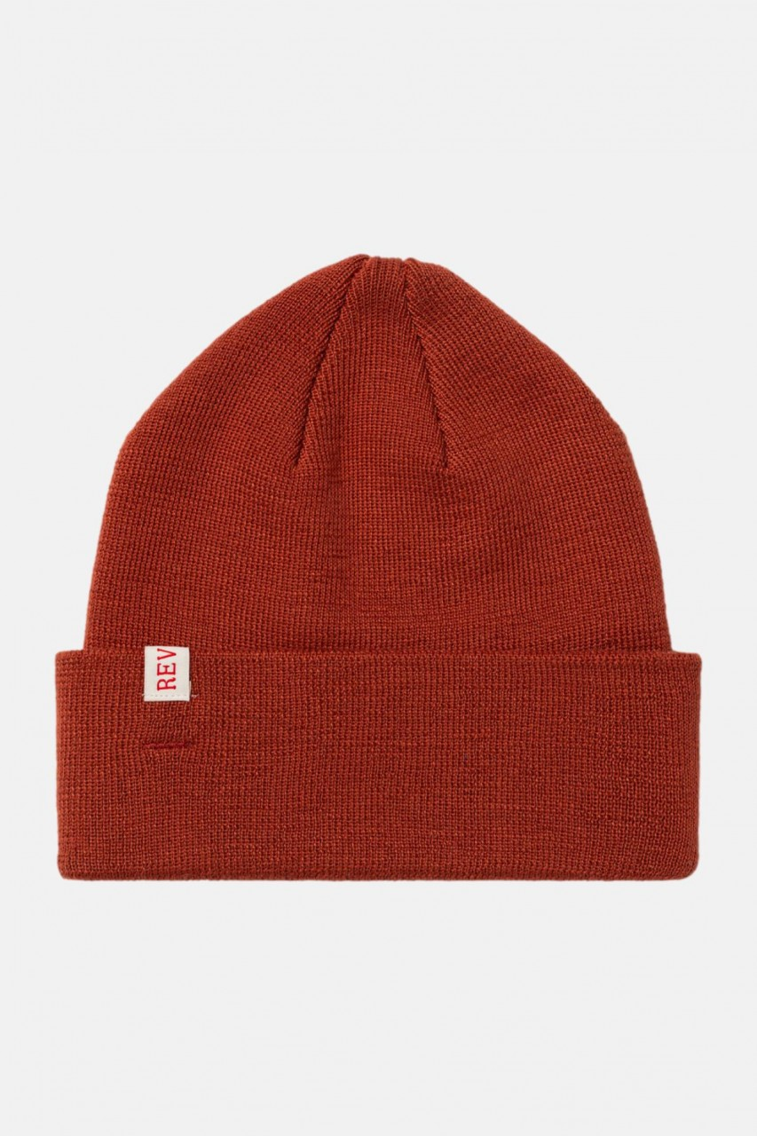 RVLT Revolution Mütze Beanie Rot