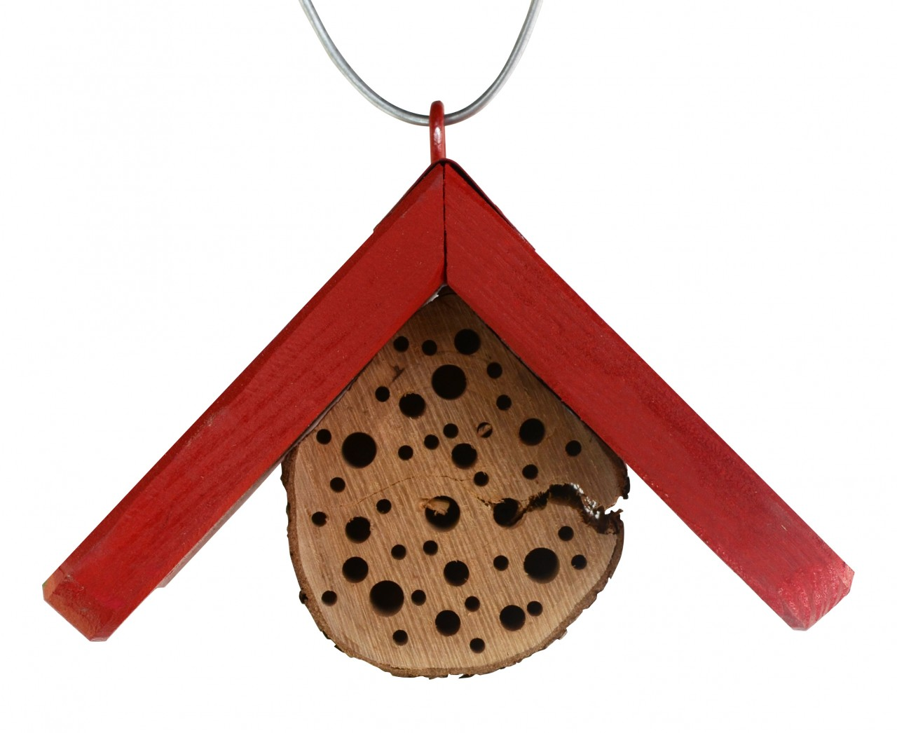 Insektenhotel Mini Dach Rot