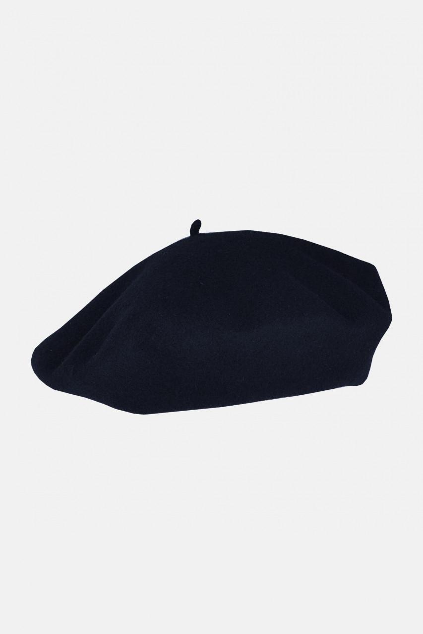 Baskenmütze klassisch blau