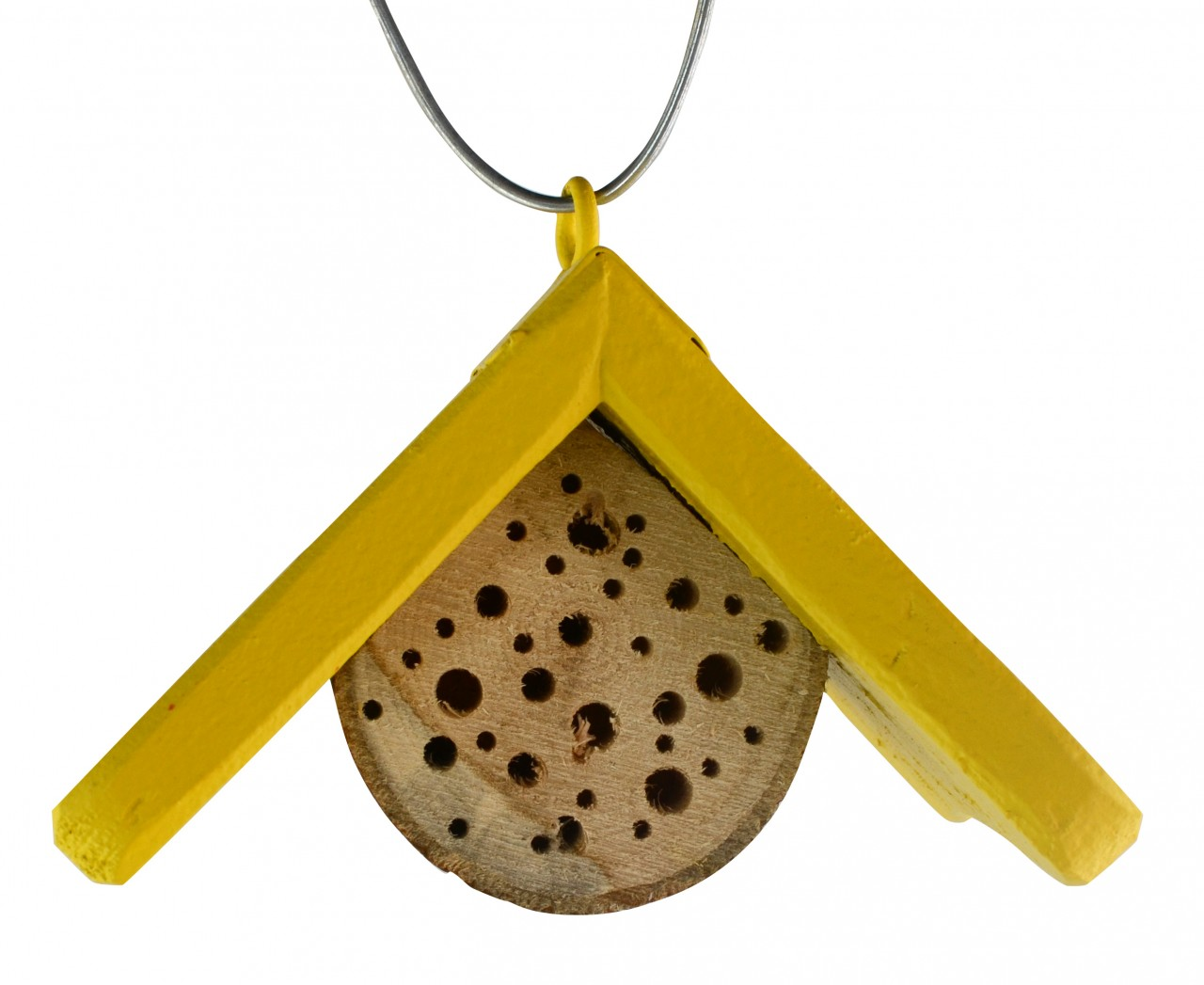 Insektenhotel Mini Dach Gelb