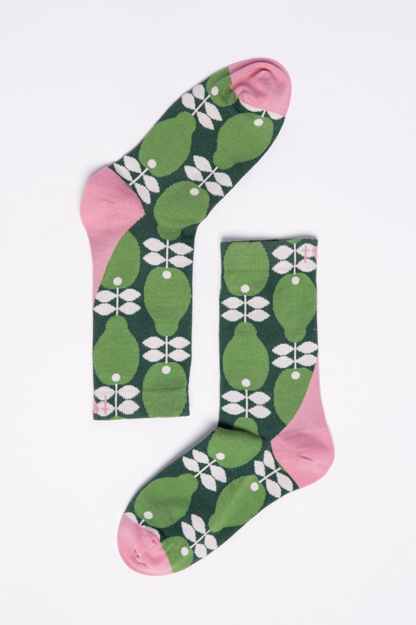 Blutsgeschwister Damen Socken Sensational Steps Perfect Peach Birnen