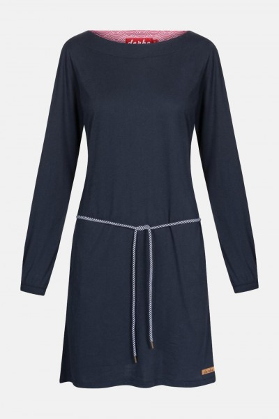 Derbe Damen Kleid Marilyn Dress Navy Dunkelblau