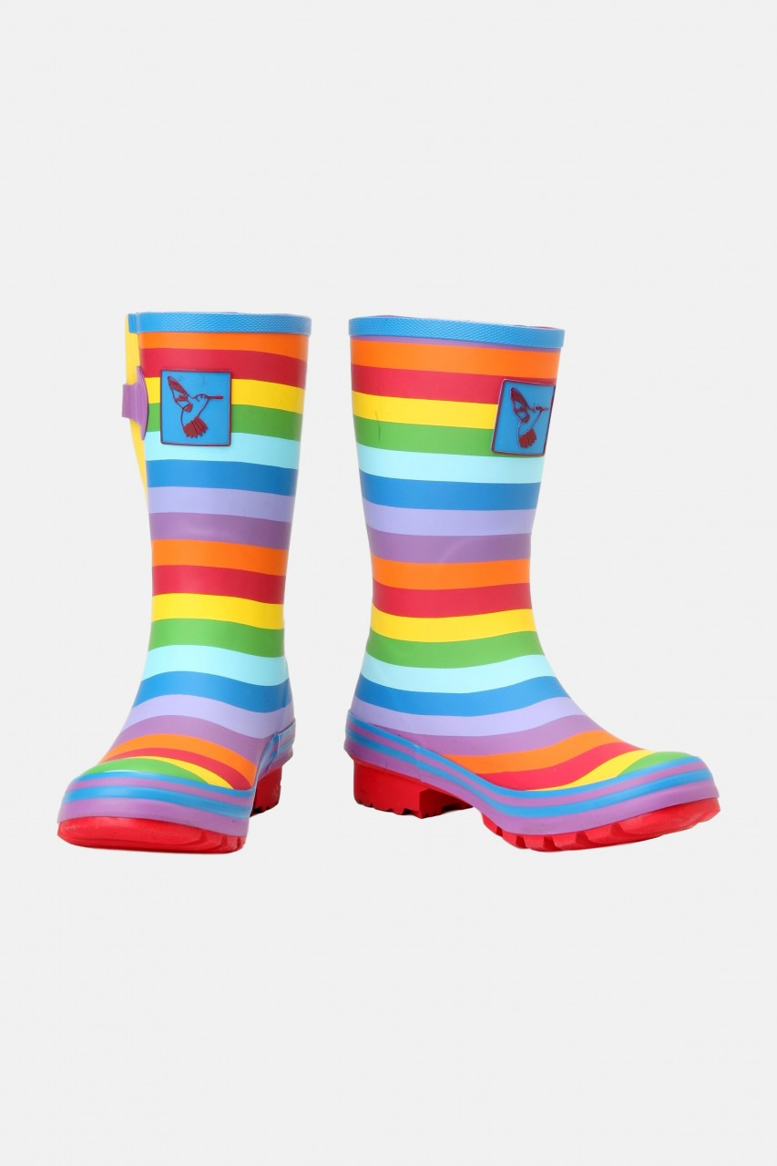 Evercreatures Gummistiefel Rainbow Short Halbhoch