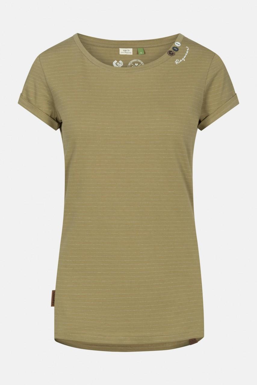 Ragwear Florah C Organic Damen T-Shirt Khaki