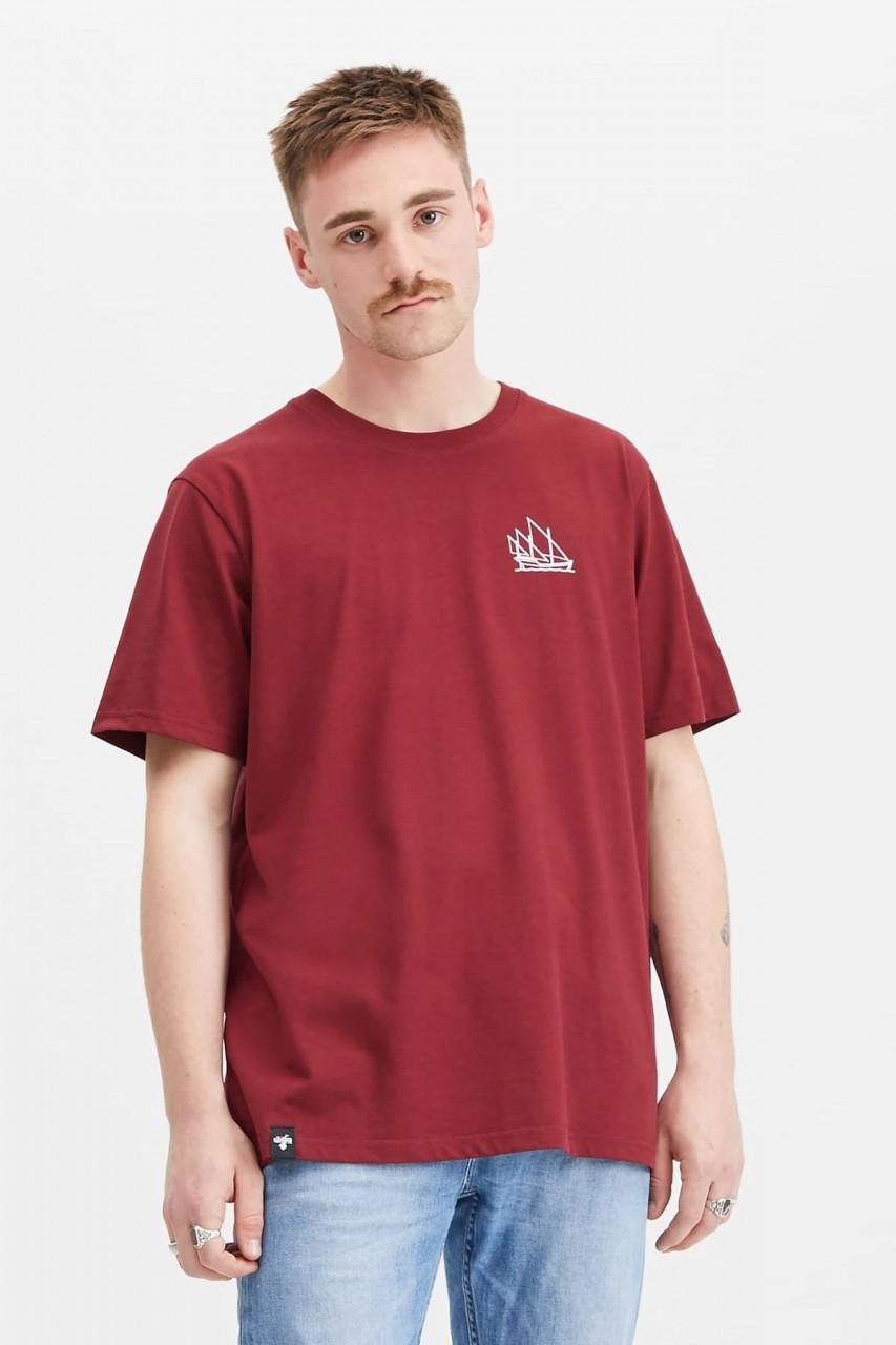 Hafendieb Karavelle Herren T-Shirt rot