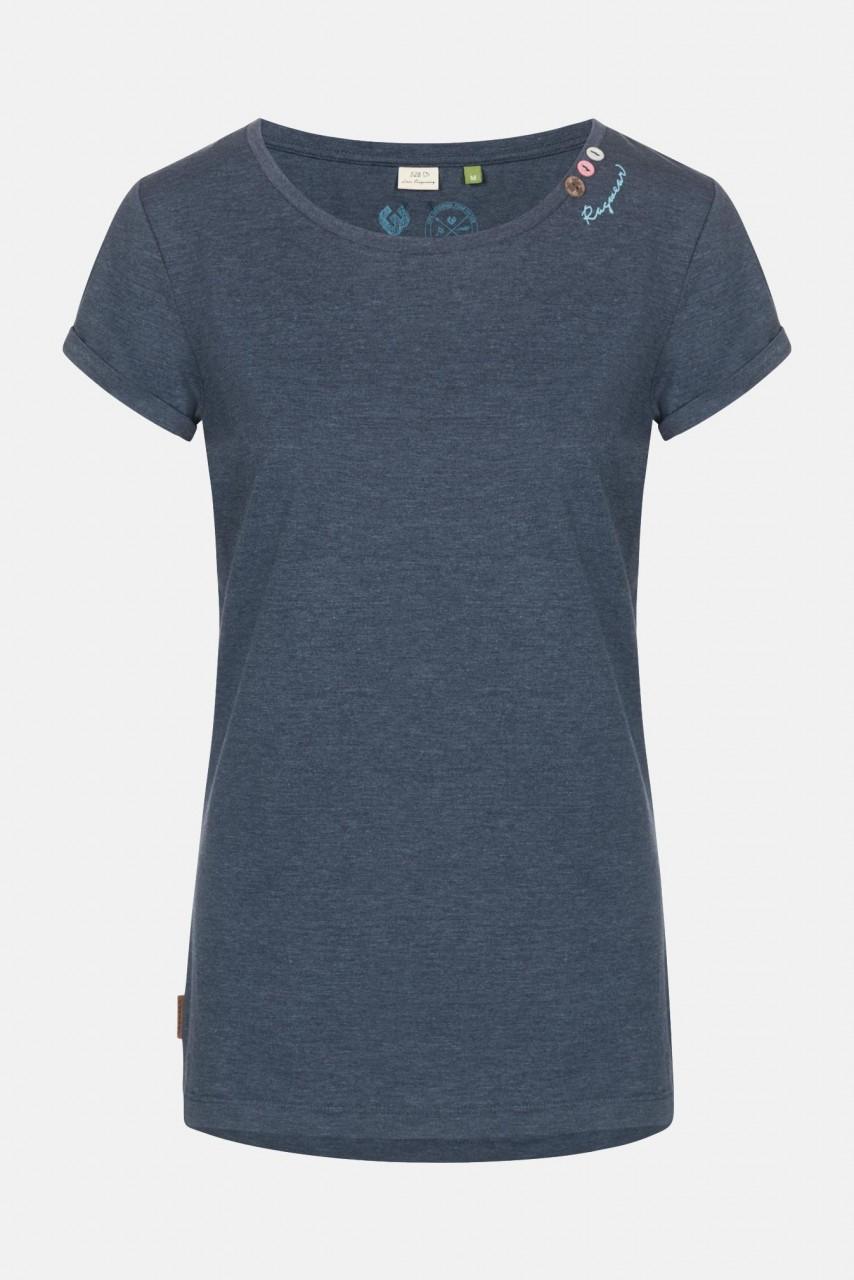 Ragwear Florah A Organic Damen T-Shirt Navy Dunkelblau