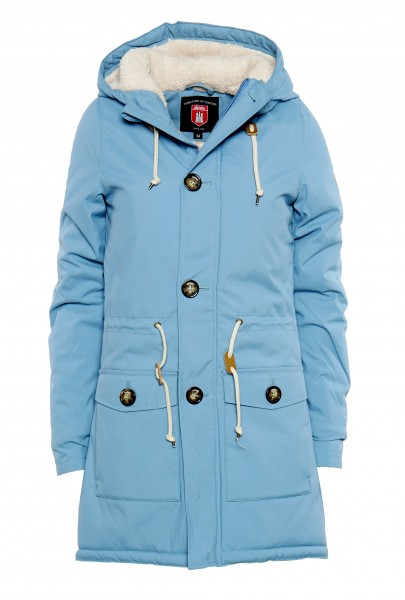 Derbe Festland Friese Damen Hellblau Winterjacke