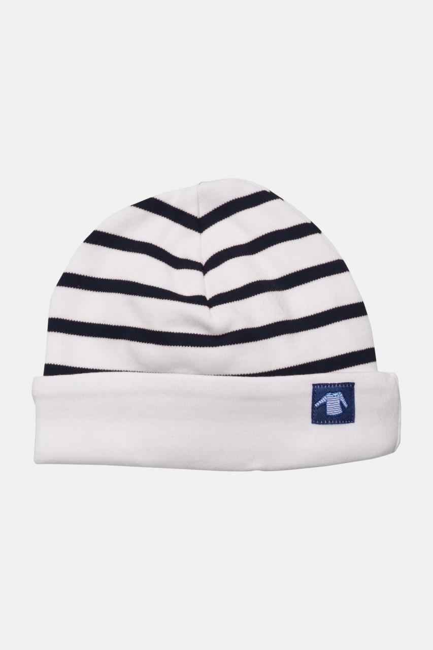 Armor Lux Baby-Mütze weiß-blau